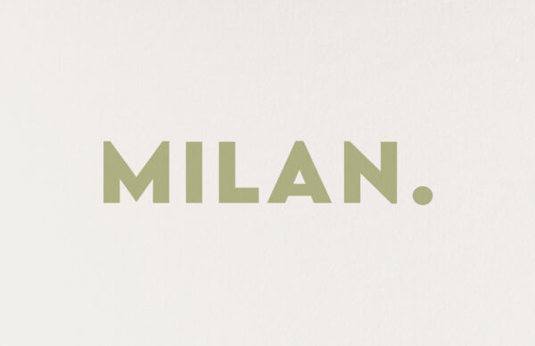 Geboortekaart Minimalistisch Simpel Eenvoud Zacht Hip Olijf Groen Letterpress Gmund Katoenpapier