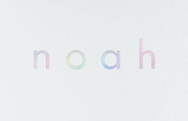 Geboortekaart Minimalistisch Simpel Eenvoud Katoenpapier Holografische Folie Glanzend Funky Fun