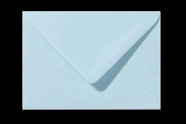 Envelop Laguneblauw Puntklep 18 x 12 cm