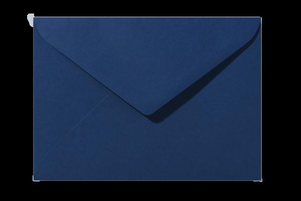 Envelop Nachtblauw Puntklep 18 x 12 cm
