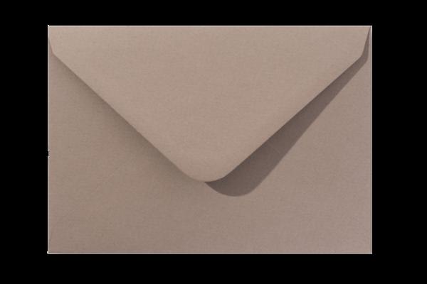 Envelop Vintage Eco Zandbruin Puntklep 18 x 12 cm