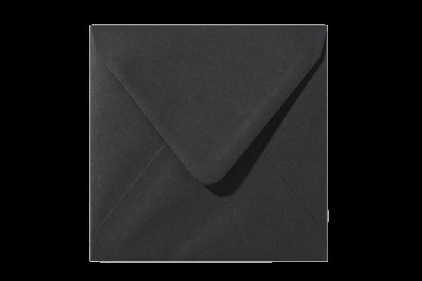 Vierkant Envelop Zwart Puntklep